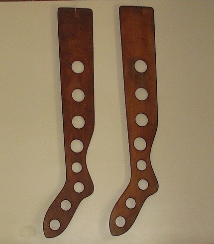 antique sock stretcher wooden primitive