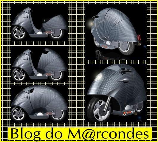 e9620617505 Blog do M rcondes  Empresa espanhola mostra motocicleta movida a energia  solar