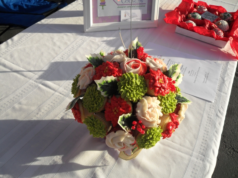 The Cindy\'s Confections Blog: Spotlight: Cupcake Bouquets with sugar ...