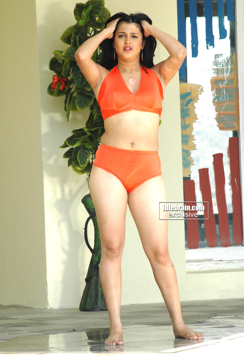 Actress In Red Saree: Celebrity: South INDIAN ACTRESS In BIKINI Hot NICOLE Spicy