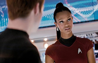 Zoe Saldana Star Trek 2 Movie