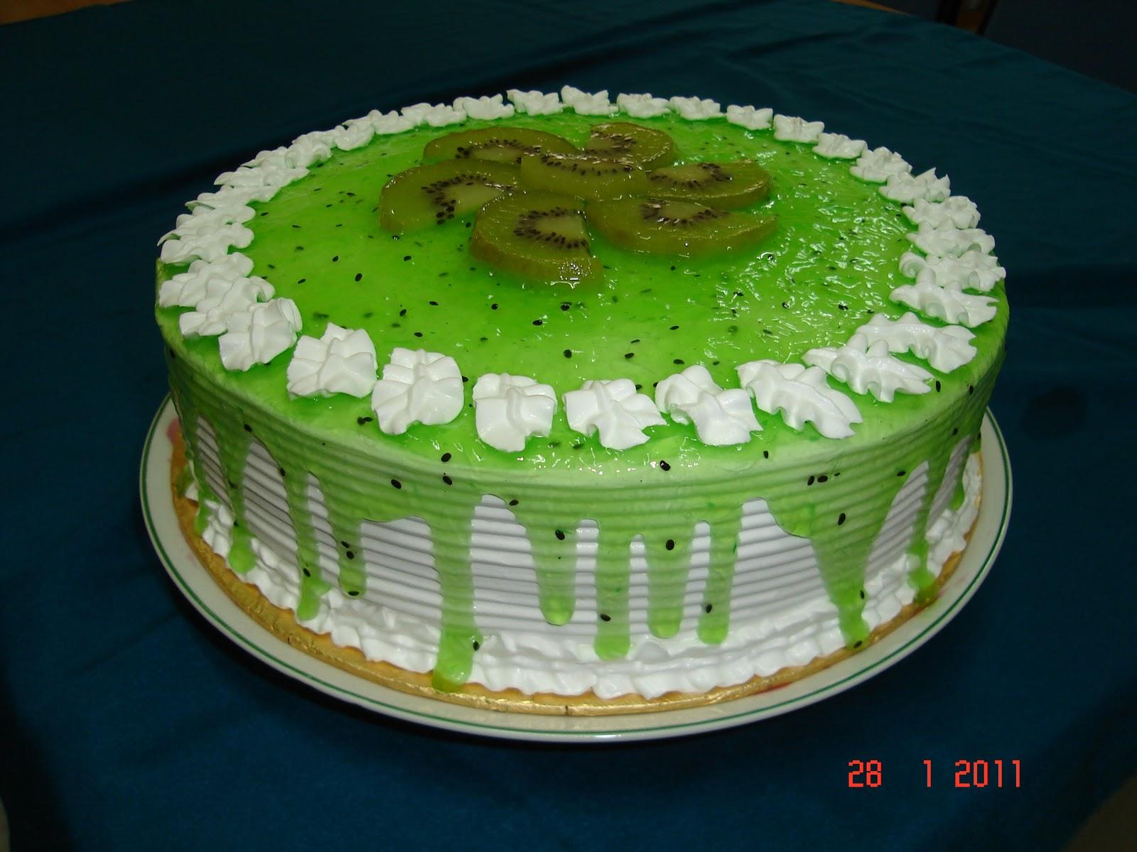 Delicious Homemade Cakes Kiwi Cake