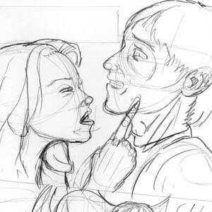 BustArtist's Blog: GC#4, issue 5, pencils progressing