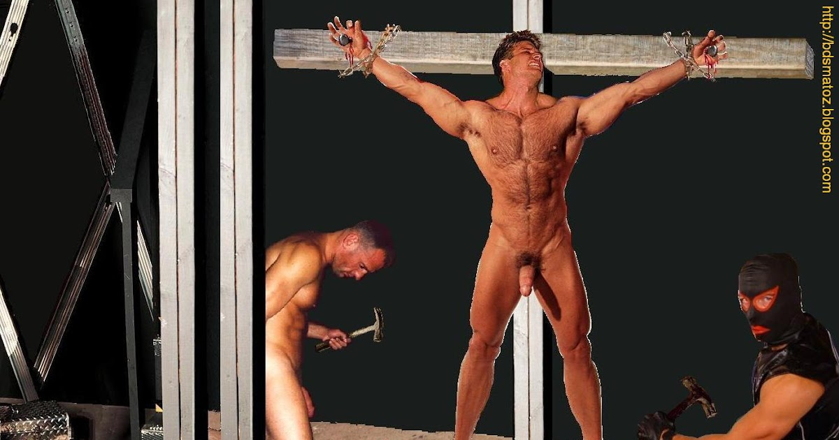 Men crucified bdsm