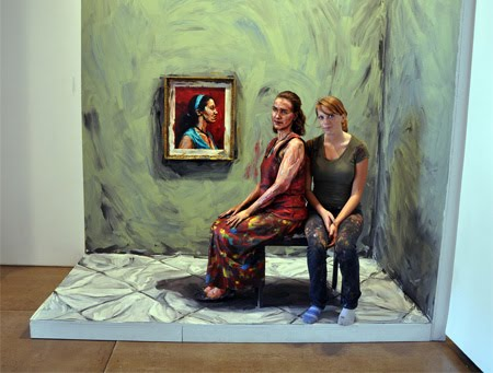 paintings cool into things unusual transformed