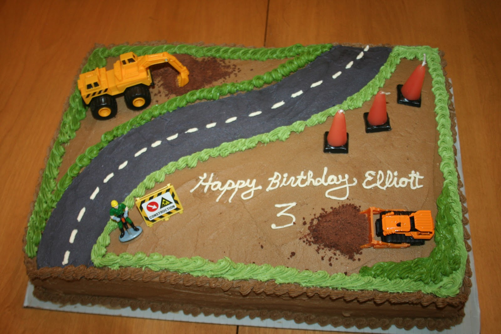 Construction Site Cakes Horlyocribweb48 S Soup