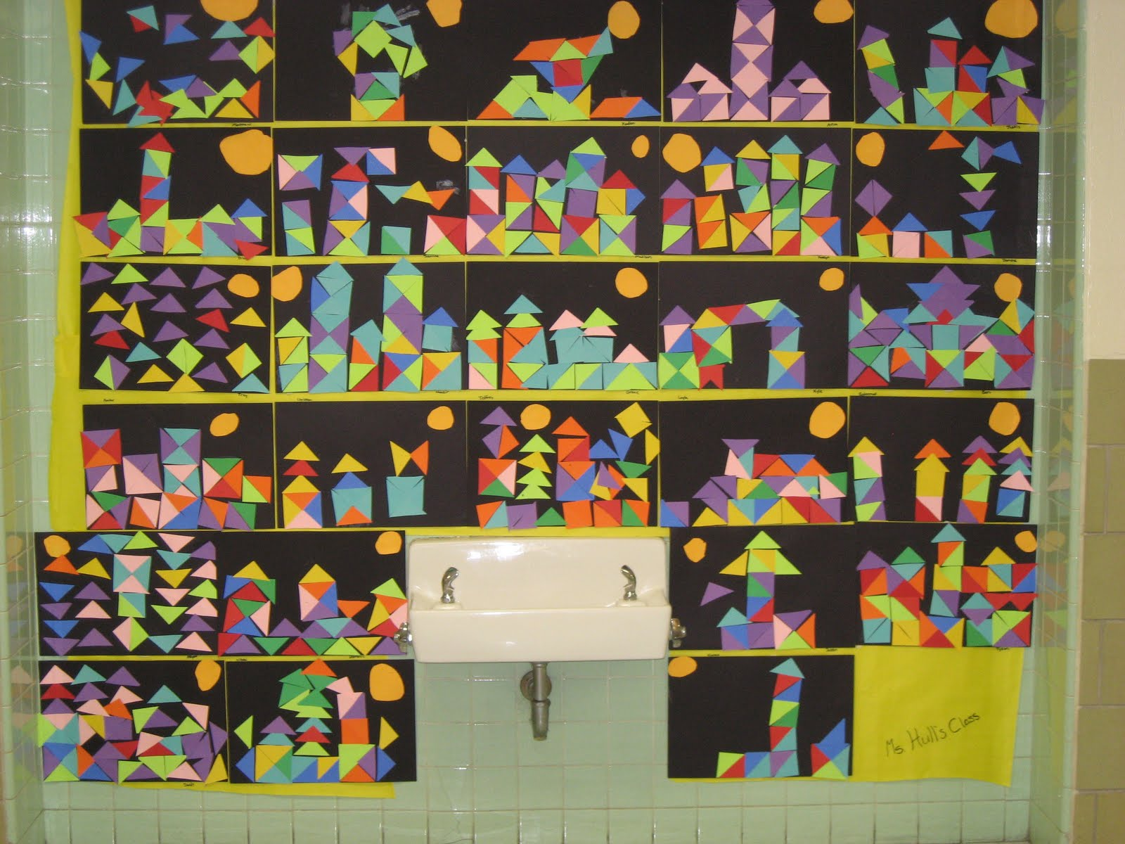 Lines Dots And Doodles 1st Grade Paul Klee Project