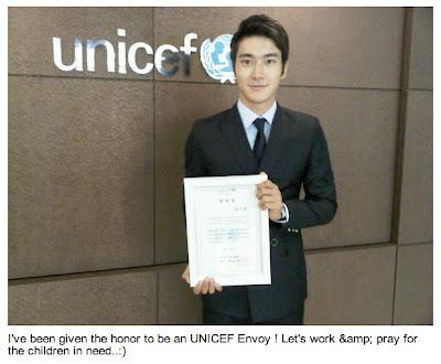 Twitter] Someone is honoured as UNICEF Envoy! | Daily K Pop News
