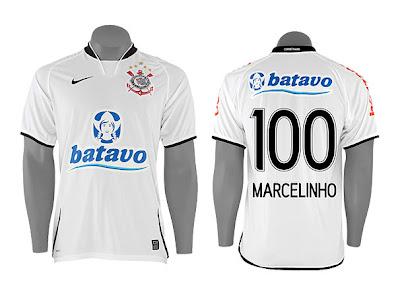 3729c22e6f A loja oficial do Corinthians começou a pré-venda da camisa de Marcelinho  Carioca. O Pé de Anjo