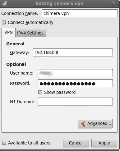 Create a private proxy