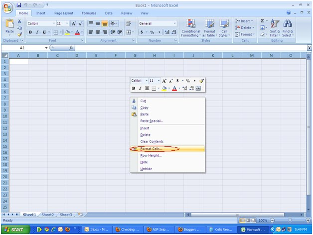 How to Make Some cells Read only in Excel Sheet and other