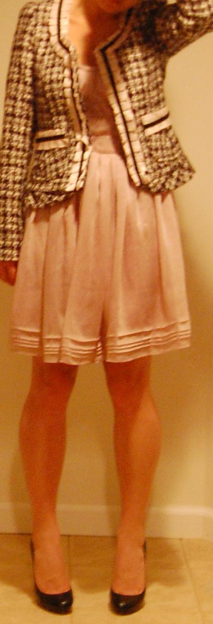 Work Outfits : Tweed Jacket and LaRok Dress