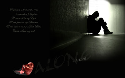 Wallpapers - From my Desktop: I am Alone - Desktop Background