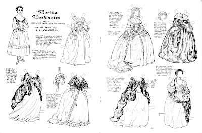The Paper Collector: Martha Washington by Pat Stall