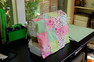 Patchwork Sewing Machine Cover Tutorial