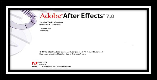 Tutorial Adobe After Effect 7.0 ~ MICRODC
