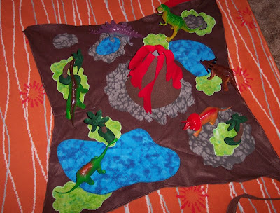 Roaring Design Blog 194 Gt Gt Dinosaur Play Mat Completed