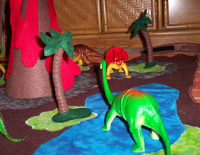 Roaring Design Blog 194 Gt Gt Dinosaur Play Mat Completed