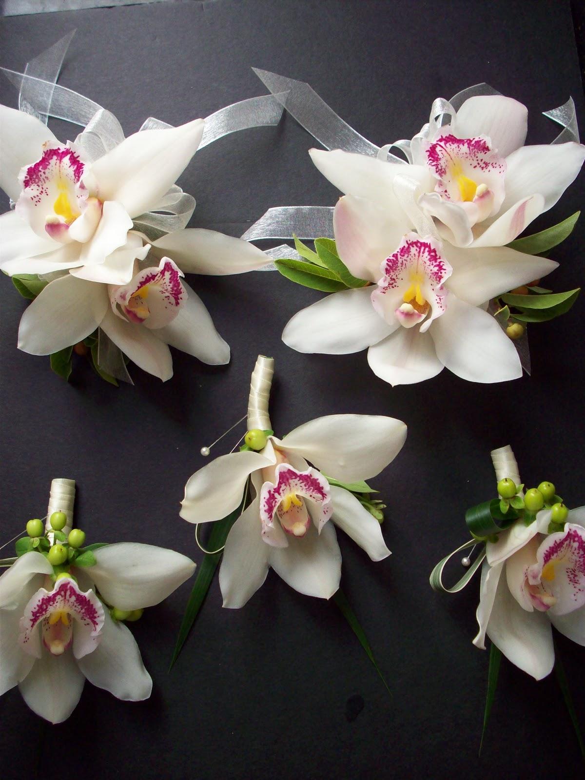 Cymbidium Orchid Wrist Corsages: Gousicteco: Orchid Cymbidium Corsage Images