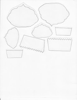 Mel Stampz: CUPCAKE BOXES for Linsey's cupcake shaped ...