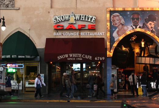 Snow White Cafe Los Angeles Ca