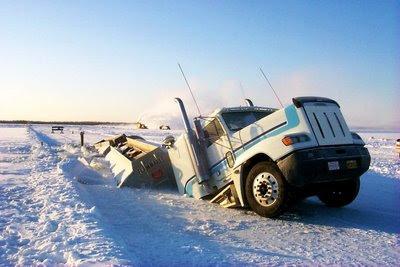 Resultado de imagen para carretera de hielo mas larga del mundo
