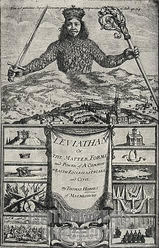 journalistic thoughts: Hobbes's Leviathan
