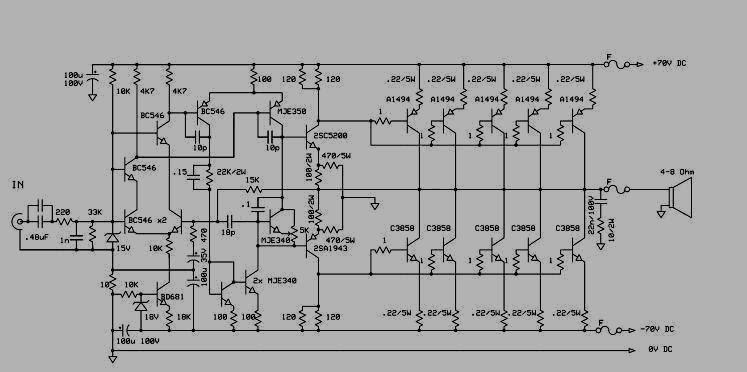 electronic power amplifier sanken 1000 watt. Black Bedroom Furniture Sets. Home Design Ideas