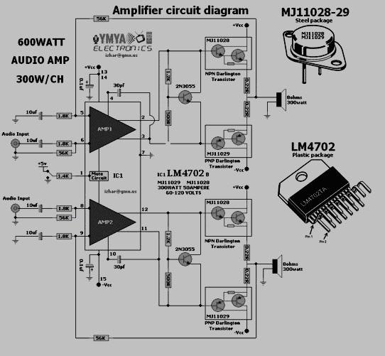 1000w Power Amplifier Schematics – Jerusalem House