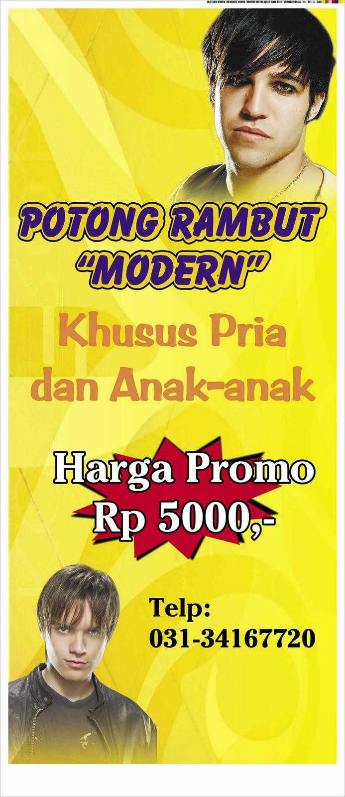 smart advertising: Spanduk Vertical banner Potong Ranbut