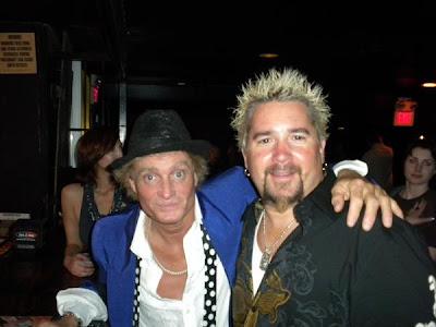 9b091400957 Fans of Guy Fieri  Rod Stewart look alike at Detroit Road Show
