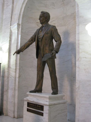 Image result for statue of robert c byrd