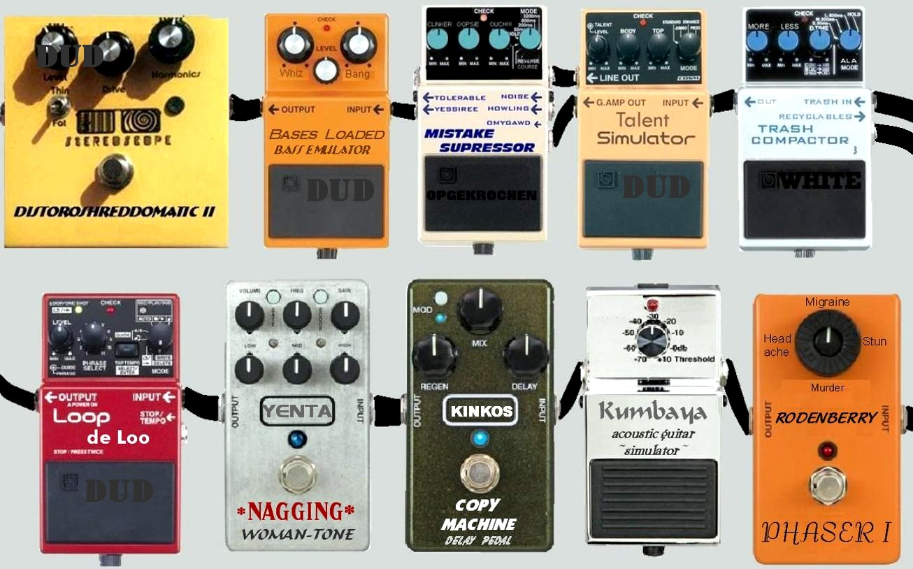pics How to Set Up Guitar Pedals
