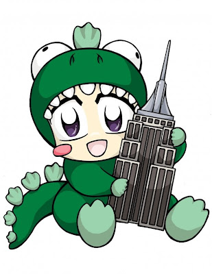 Super kawaii 2008 NYAF mascot