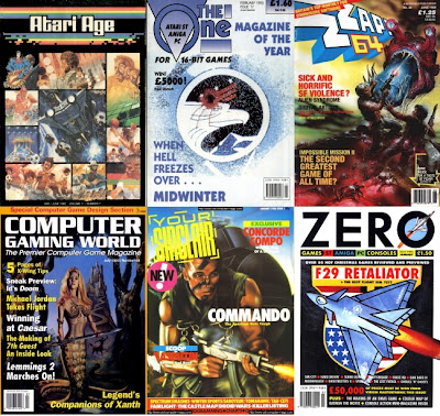 Gnome's Lair: Gaming magazines of the pre-Internet era living happy