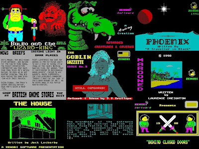 Zenobi Software Loading Screens ZX Spectrum