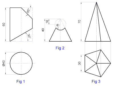 Engineering Drawing: June 2009 Question Paper with Model