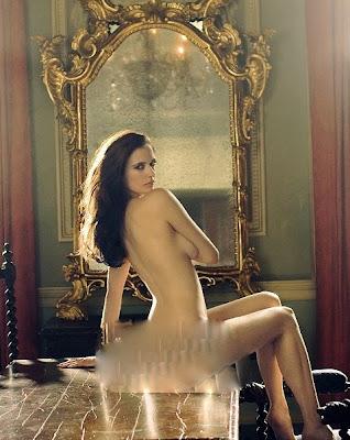 S S Bond Girl Eva Green Naked Photoshoot