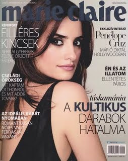 Penelope Cruz Photo Shoot for Marie Claire Magazine pictures