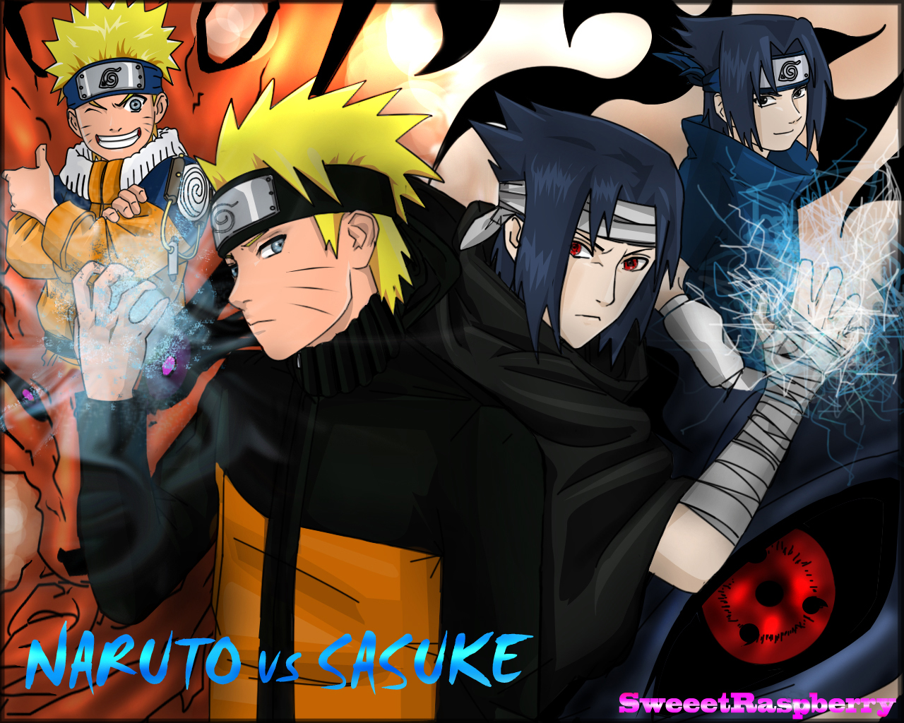 Wallpaper 3d Naruto Wallpapersku Naruto Vs Sasuke Wallpapers