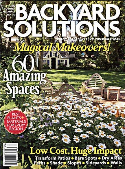 Six Garden Walk Buffalo Gardens in Backyard Solutions Magazine