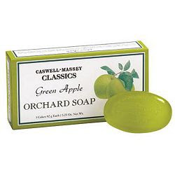 Caswell-Massey, Caswell-Massey Green Apple Orchard Soap, Caswell-Massey bar soap