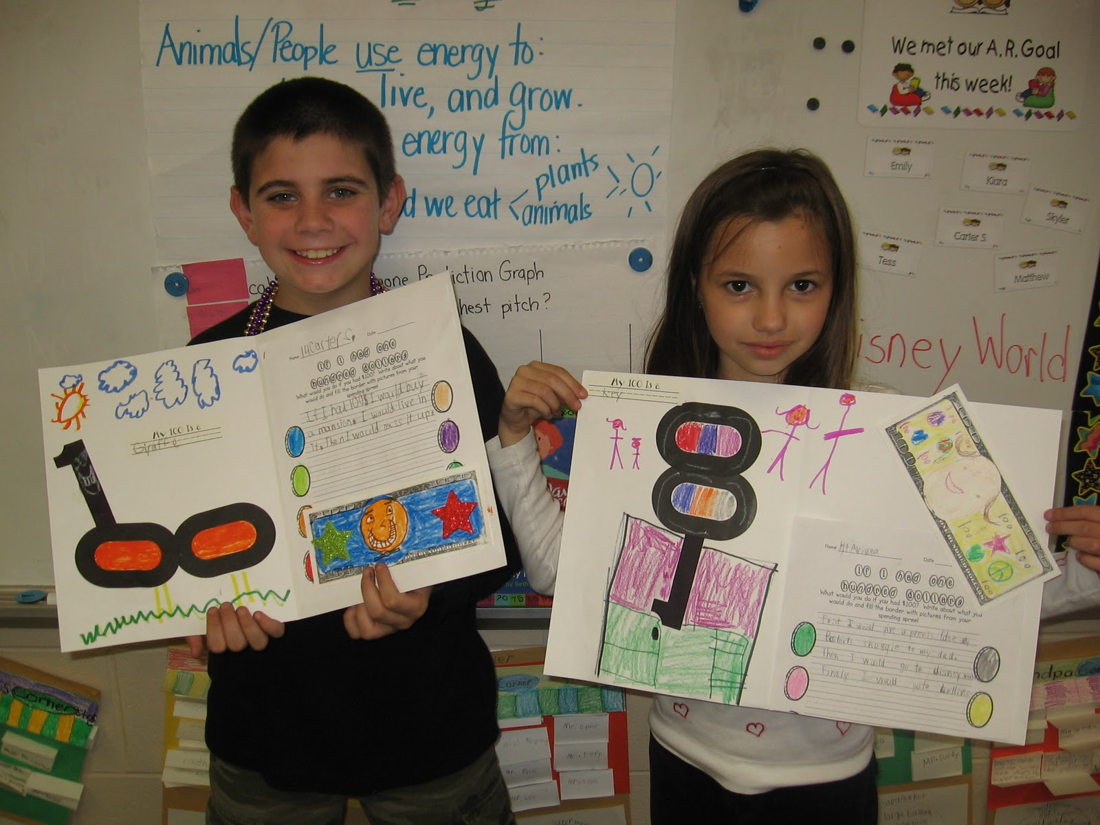 Buzzing About Second Grade 100th Day Celebration