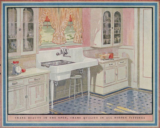 Vintage Cookbook Addiction Kitchen 1920