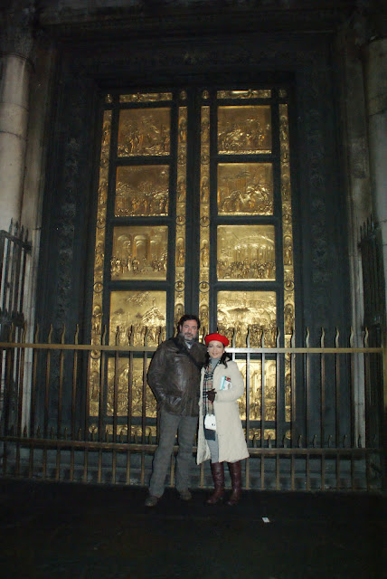 puerta baptisterio florencia