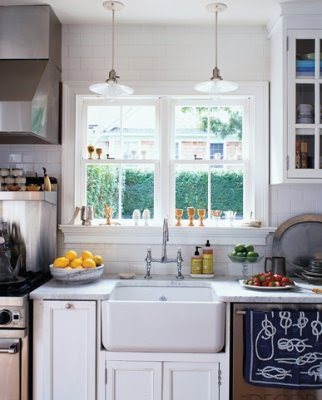 eclectic nautical kitchen