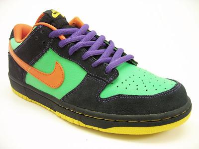 buy online 07b5d 378d4 nike sb dunk low green spark hoop orange