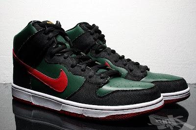 353a467076cc Nike Dunk SB High – RESN - Gucci – Detailed Pics – Release Info November  2009