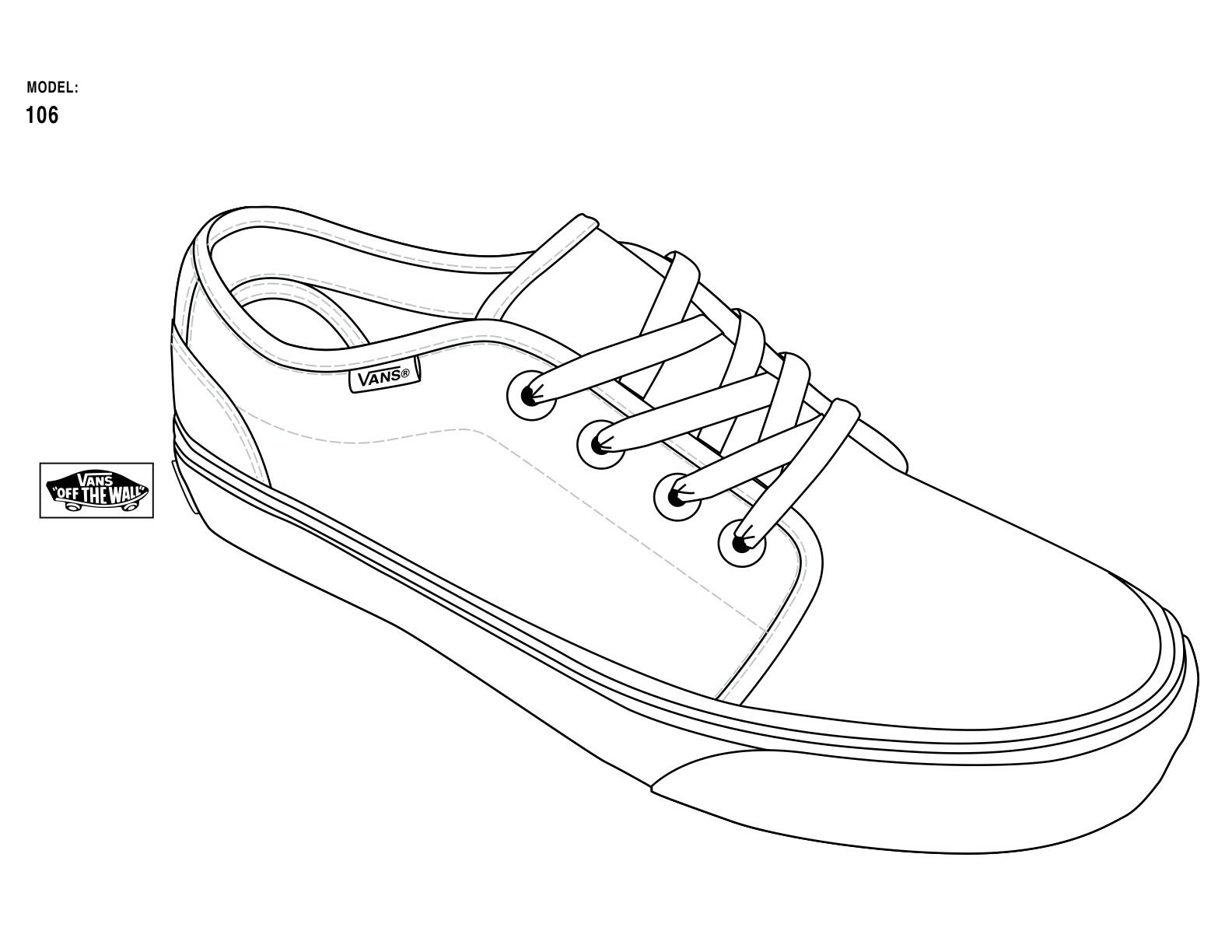 Tennis Shoes Printout