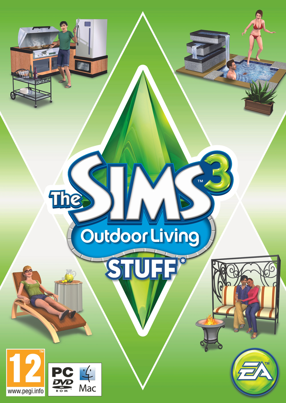 The Sims 3 Design: The Sims 3 Outdoor Living Stuff